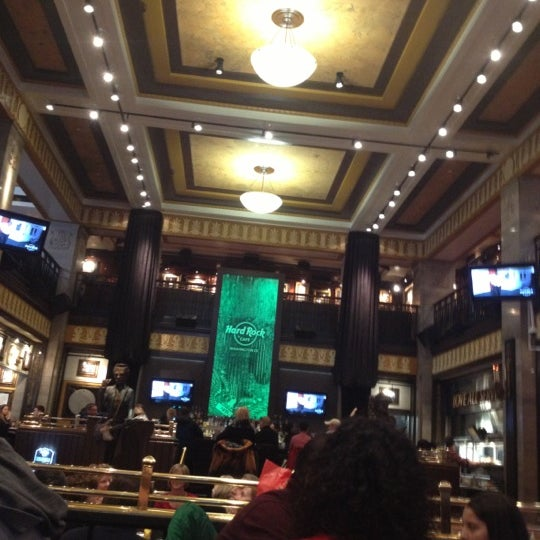 Photo taken at Hard Rock Cafe Washington DC by Tom A. on 2/16/2013