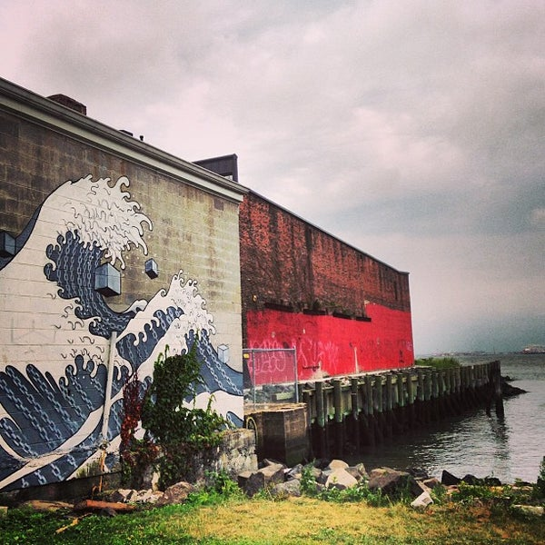 Photo taken at Louis Valentino Jr Park & Pier by Kat E. on 7/28/2013