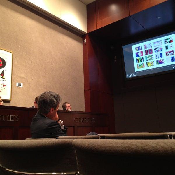4/30/2013にMariandariniがChristie'sで撮った写真