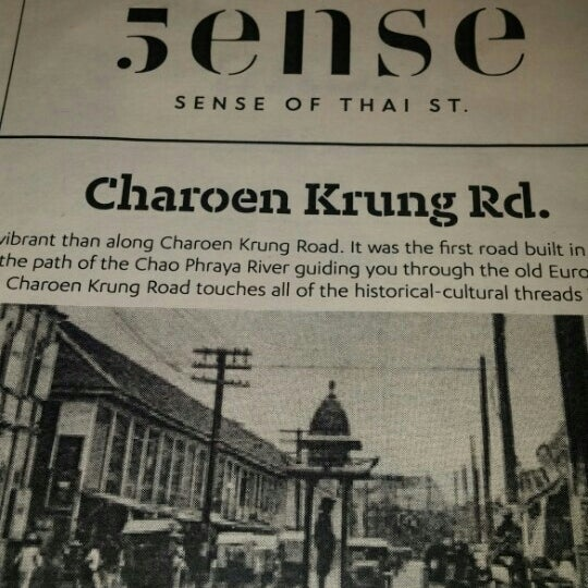 Photo taken at 5ense of Thai St. by George D. on 10/17/2015