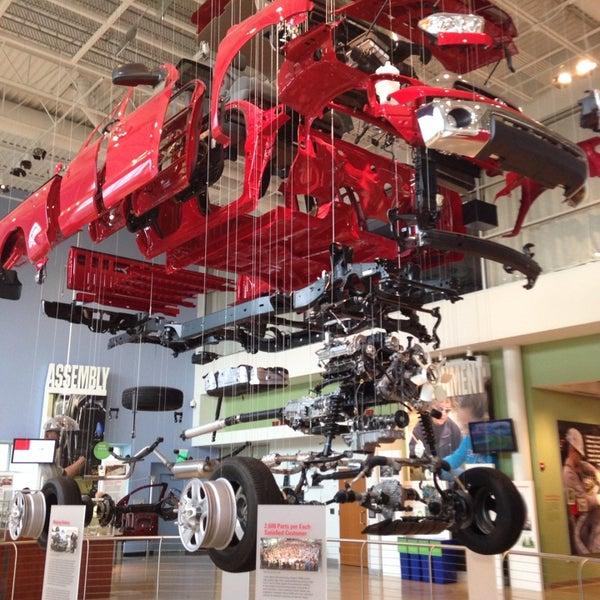 Photo Taken At Toyota Motor Manufacturing Indiana By Kristen J. On 7/23/