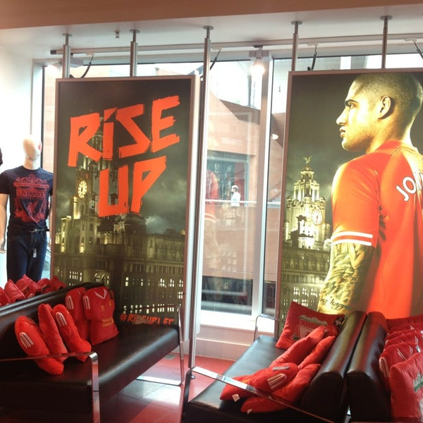 Photo taken at Liverpool FC Official Club Store by Jisun M. on 7/20/2013