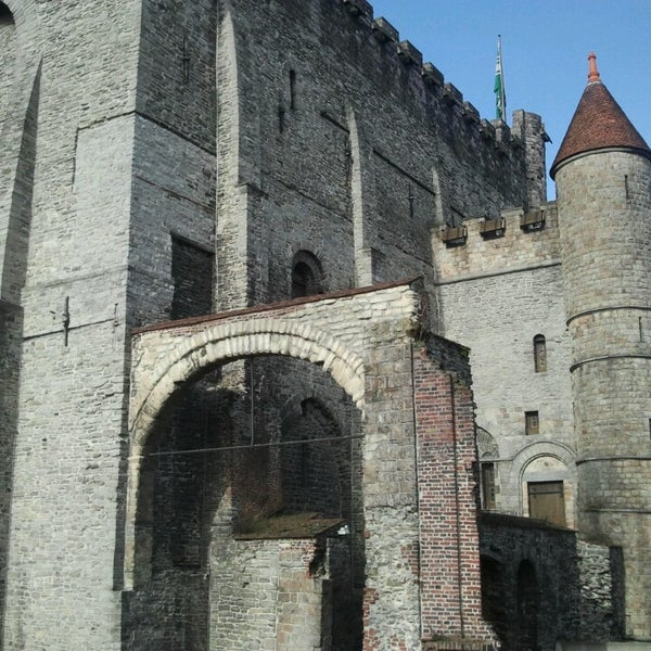 Photo taken at Castle of the Counts by Robin G. on 3/6/2013