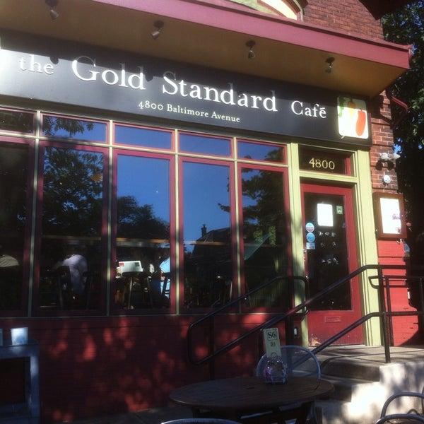 Photo taken at Gold Standard Cafe by David on 8/2/2013