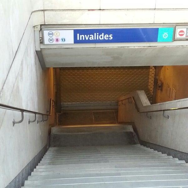 M tro invalides 8 13 invalides quai d 39 orsay for Quai d orsay metro