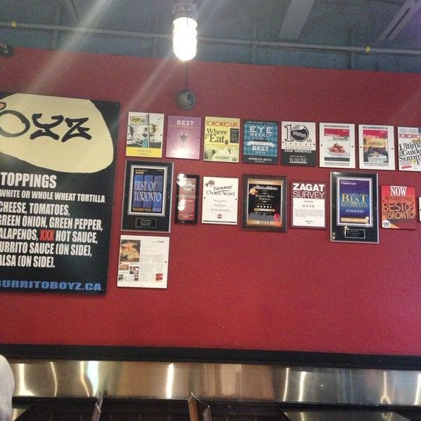 Photo taken at Burrito Boyz by Vijendra R. on 11/27/2014