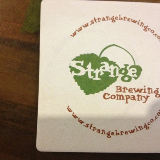 Photo taken at Strange Craft Beer Company by Gautam C. on 10/26/2012