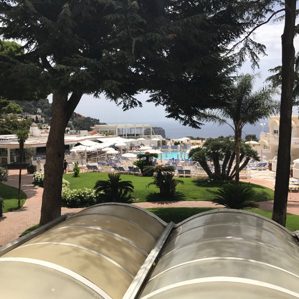 Photo taken at Quisisana Grand Hotel by Matt M. on 6/30/2017