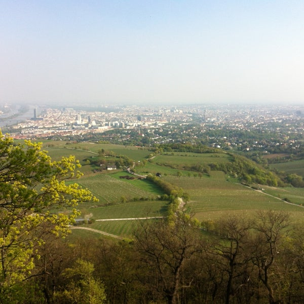 Photo taken at Kahlenberg by dasha s. on 4/25/2013