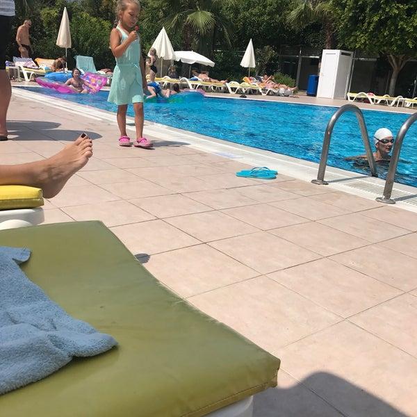 6/19/2017 tarihinde Yavuz D.ziyaretçi tarafından Primasol Telatiye Resort'de çekilen fotoğraf