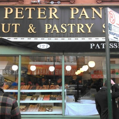 Photo taken at Peter Pan Donut & Pastry Shop by matt w. on 1/19/2013