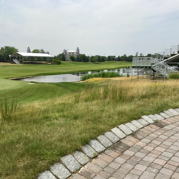 Photo taken at Liberty National Golf Course by Gary T. on 7/22/2017