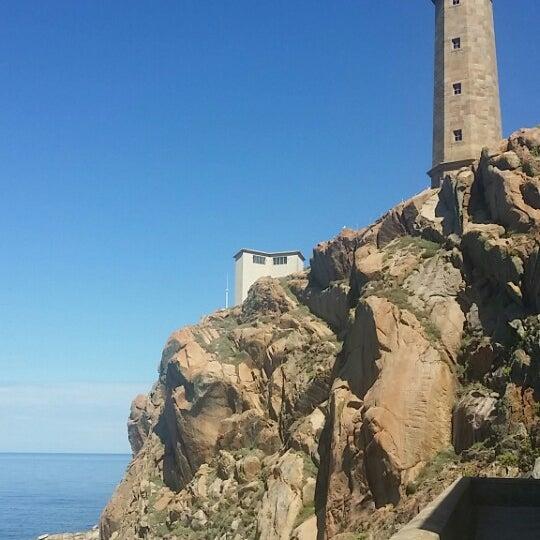 Photo taken at Faro de Cabo Vilán by Valerio on 8/24/2014