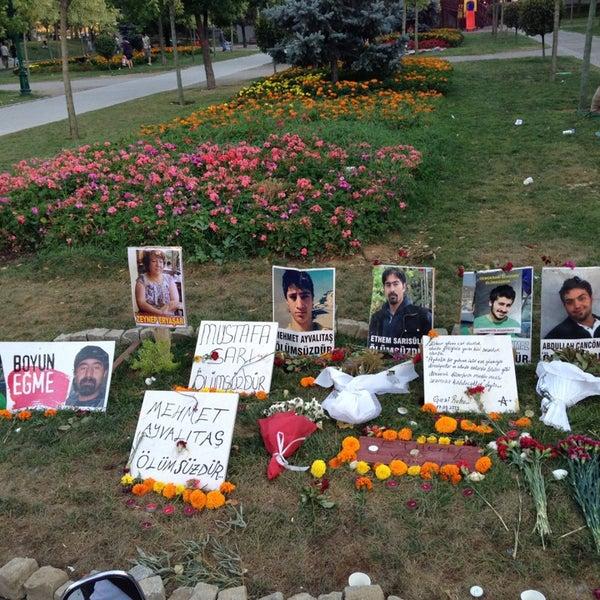 7/22/2013にUtku B.がTaksim Gezi Parkıで撮った写真