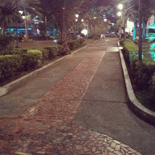 Photo taken at Parque Las Palmas by Jhon P. on 2/25/2014