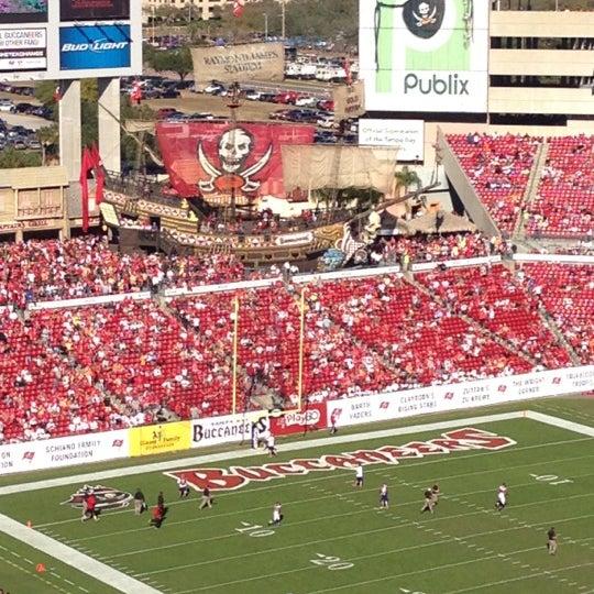 Photo taken at Raymond James Stadium by 🌸Heather P. on 11/25/2012