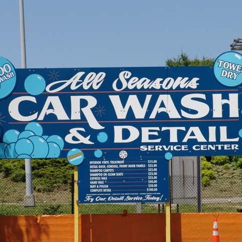 All Seasons Car Wash Detail Service Center