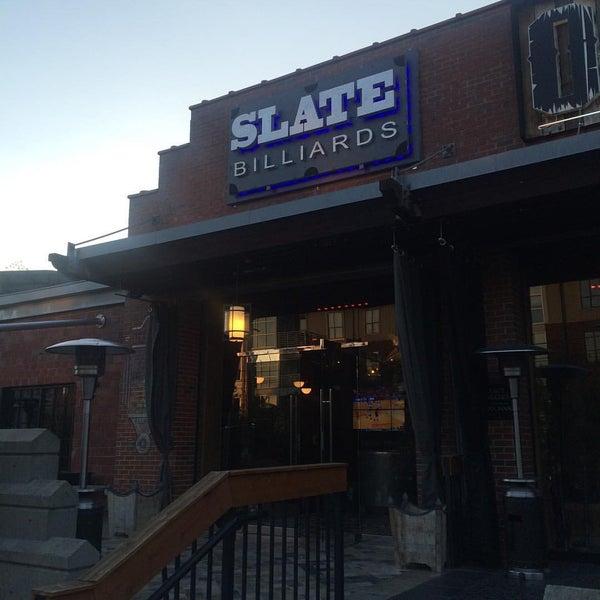 photo taken at slate billiards by rich h on 952015 - Slate Restaurant 2015