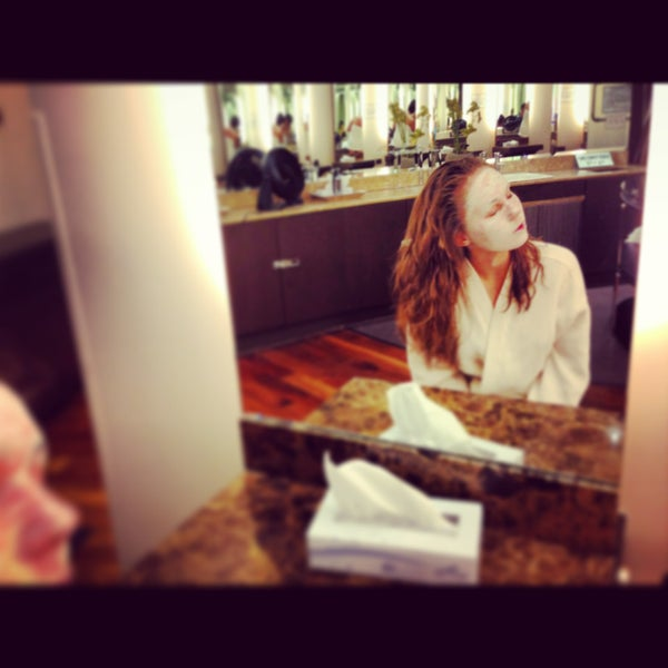 Photo taken at Wi Spa by Anya L. on 4/16/2013