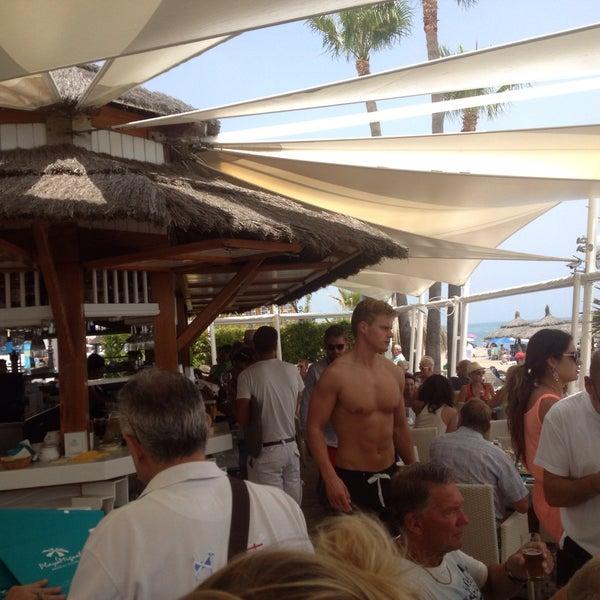 Foto tomada en Playa Miguel Beach Club por Katrijn D. el 6/26/2016