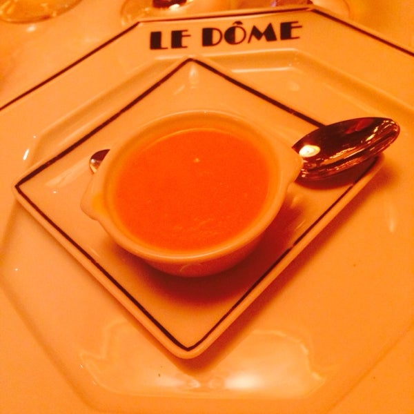 Photo taken at Le Bistrot du Dôme by Irina on 2/2/2014