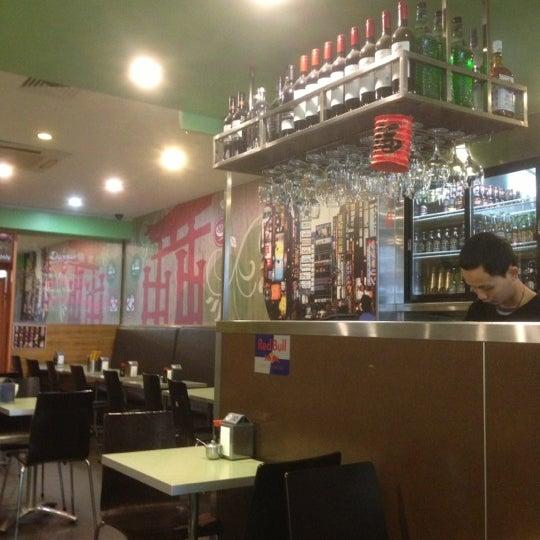 Photo taken at Gigi Sushi Bar by Bloomblym N. on 11/2/2012