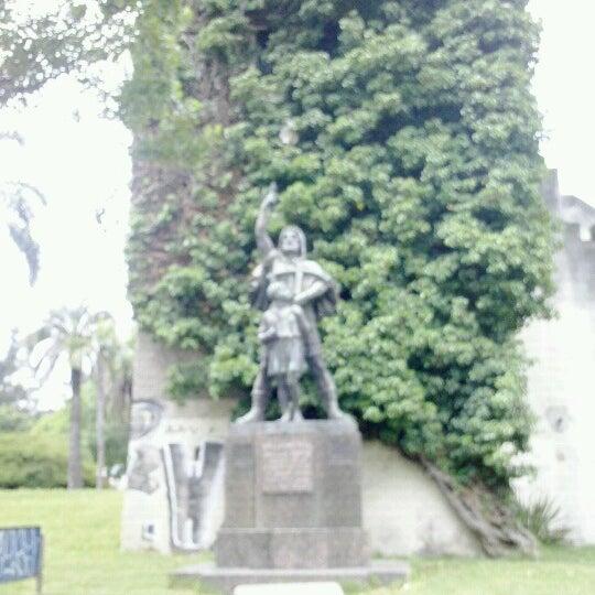 Photo taken at Parque José Enrique Rodó by Wellington S. on 11/11/2012