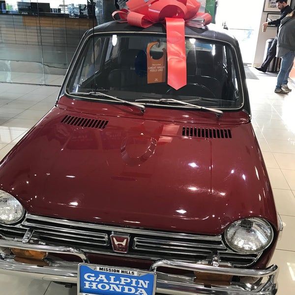 Charming Photo Taken At Galpin Honda By Martin S. On 12/10/2016