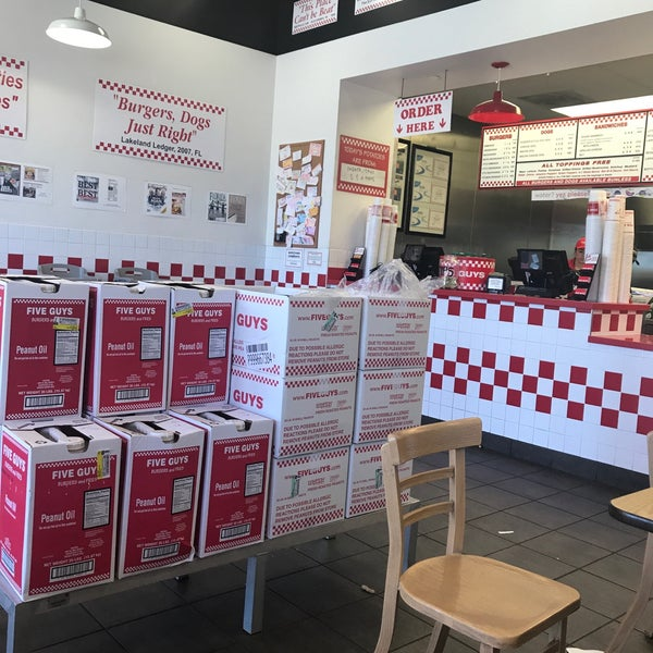 Photo taken at Five Guys by Martin S. on 6/13/2017