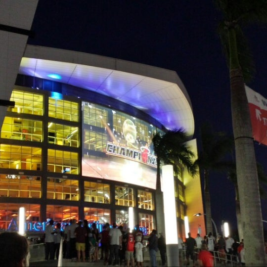 Photo taken at American Airlines Arena by @SoFLBrgOverload on 10/29/2013