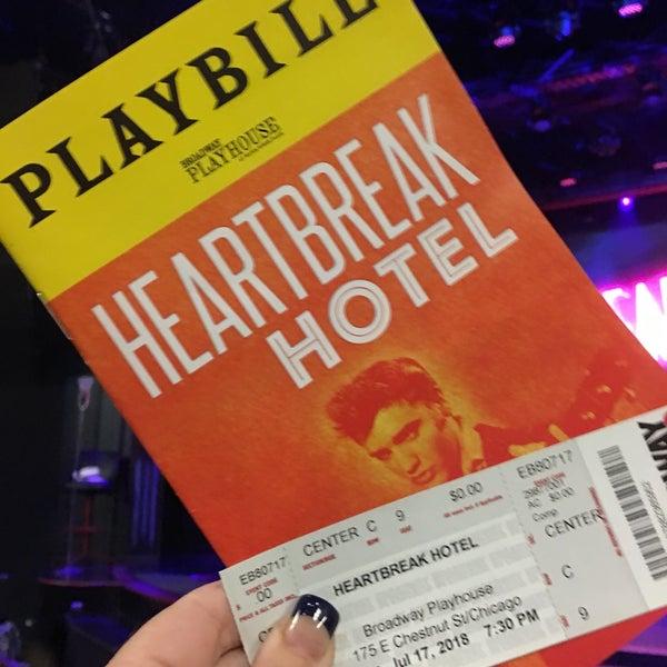 Снимок сделан в Broadway Playhouse пользователем Bonnie K. 7/18/2018