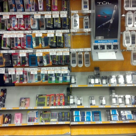 Photo taken at OfficeMax by turbopeachums M. on 12/28/2012
