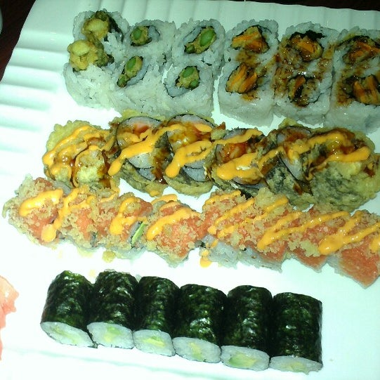 Photo taken at Sushi On The Rocks by Lisa K. on 1/21/2014