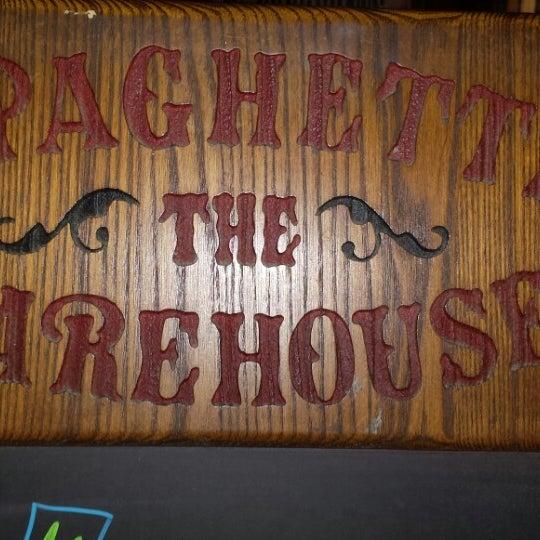 Photo taken at Spaghetti Warehouse by John K. on 5/14/2014