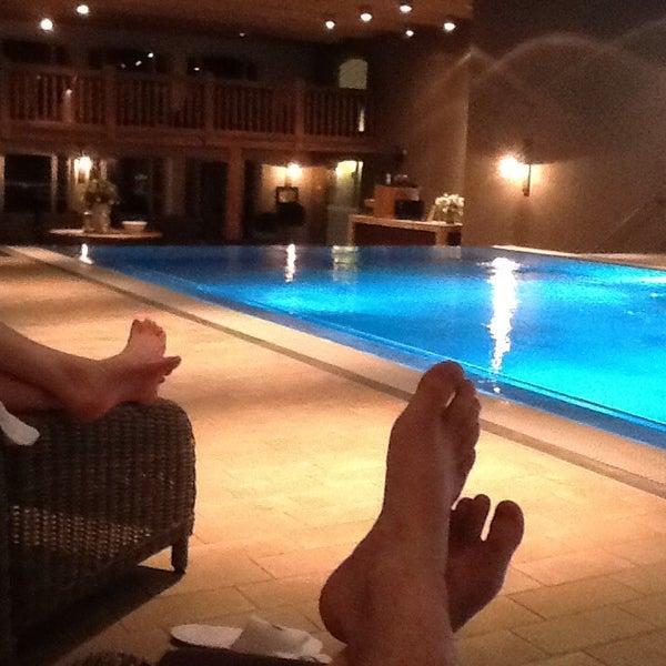 Photo taken at Lindner Spa & Golf Hotel Weimarer Land by Michael R. on 12/3/2013