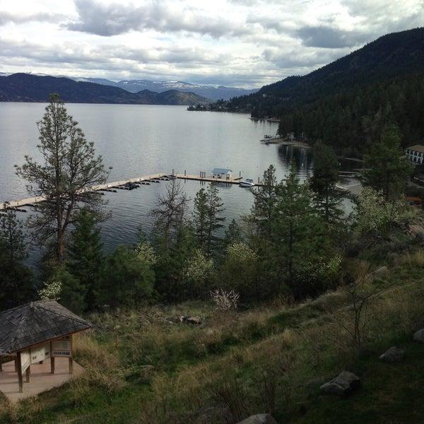 Photo taken at Lake Okanagan Resort Kelowna by Mark V. on 4/20/2013