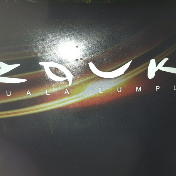 Photo taken at Zouk Club Kuala Lumpur by Mohd hisham E. on 3/29/2013