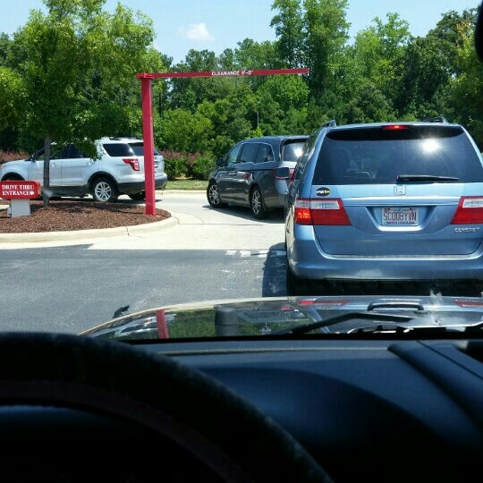 Photo taken at Chick-fil-A Holly Springs by Katie S. on 7/25/2015