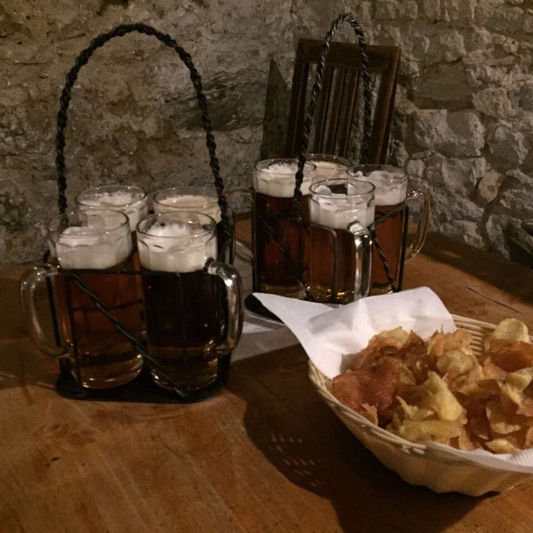 Photo taken at Czech Beer Museum Prague by Pelin T. on 3/31/2017