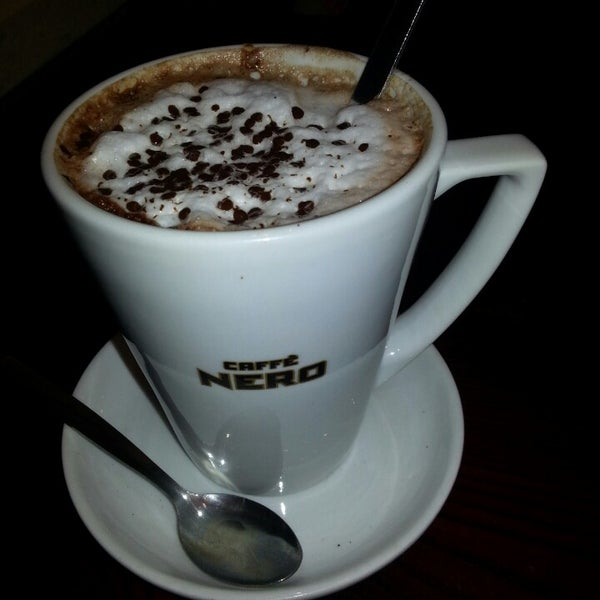 Photo taken at Caffè Nero by Nadiv S. on 2/26/2013