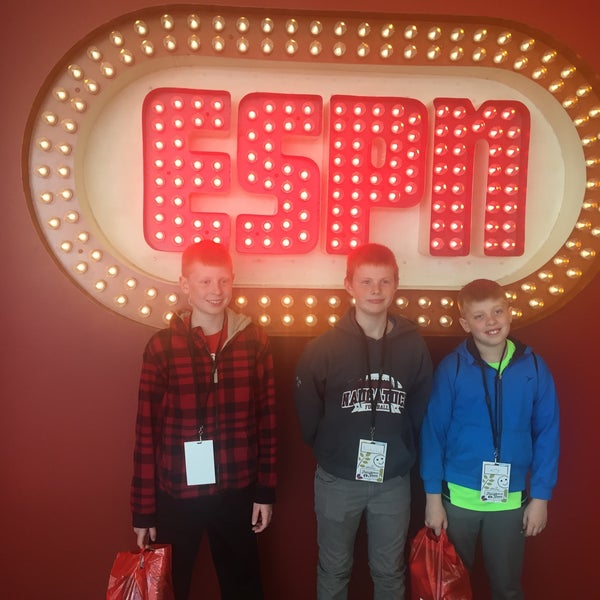 Photo taken at ESPN by Will G. on 4/28/2016