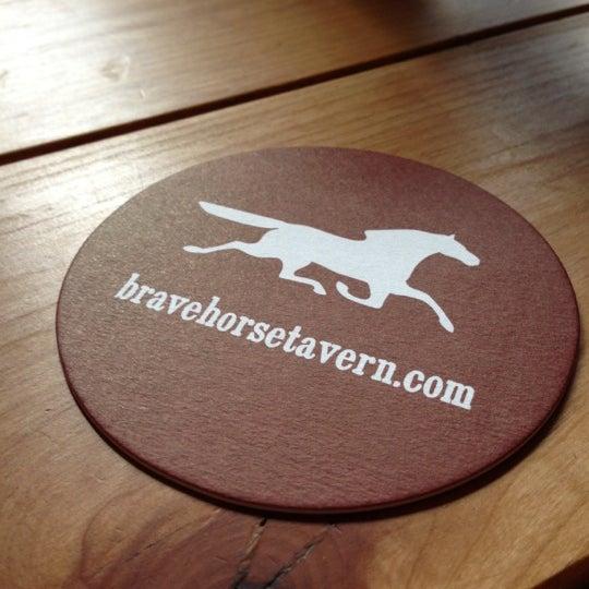 Photo taken at Brave Horse Tavern by Vidur M. on 9/28/2012