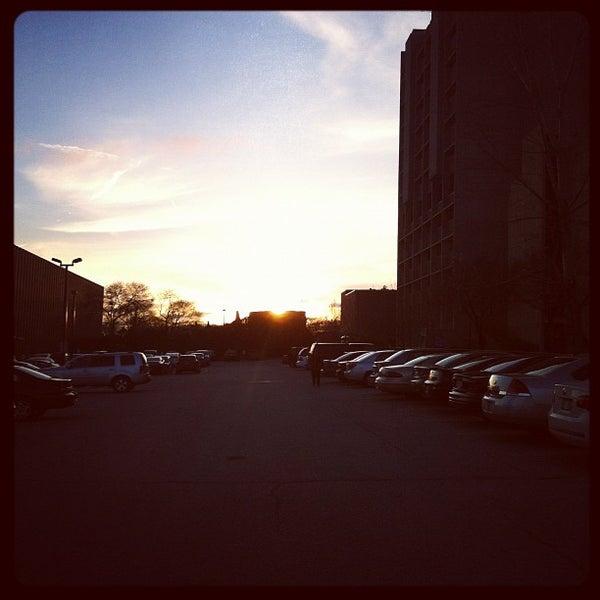 Photo taken at UWM Lapham Hall by Silverio V. on 3/29/2012