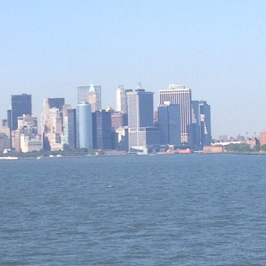 Photo taken at New York Harbor by Mari✨ on 7/6/2012