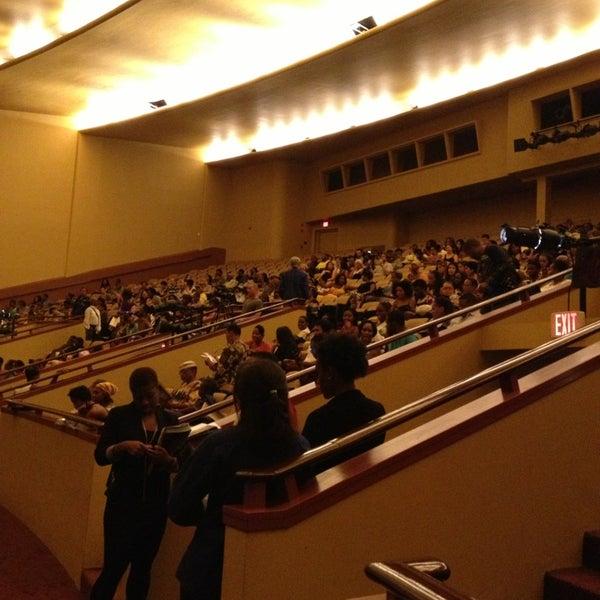 Photo taken at Lisner Auditorium by Kenna C. on 9/1/2013
