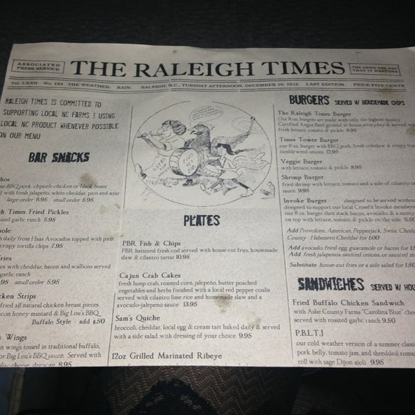 Photo taken at The Raleigh Times Bar by Michelle G. on 2/23/2013