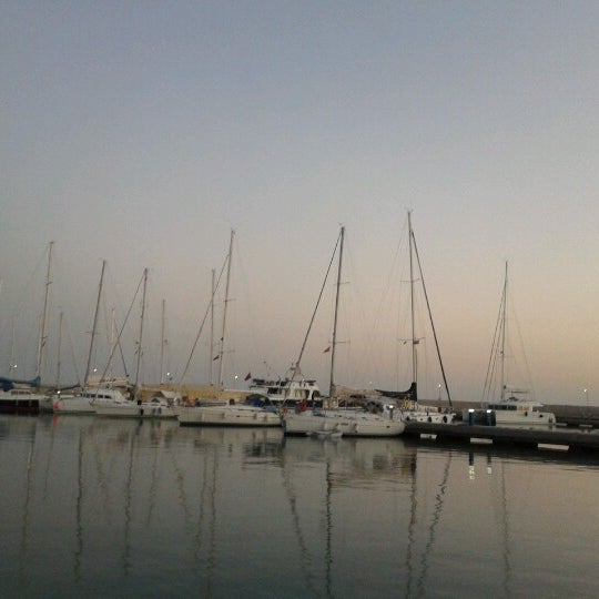Photo taken at Mersin Marina by Cemal K. on 11/4/2012