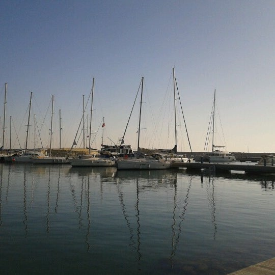 Photo taken at Mersin Marina by Cemal K. on 12/2/2012