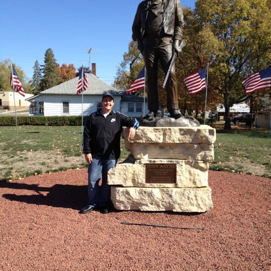 Photo taken at John Wayne Birthplace Museum by Danny C. on 10/7/2012