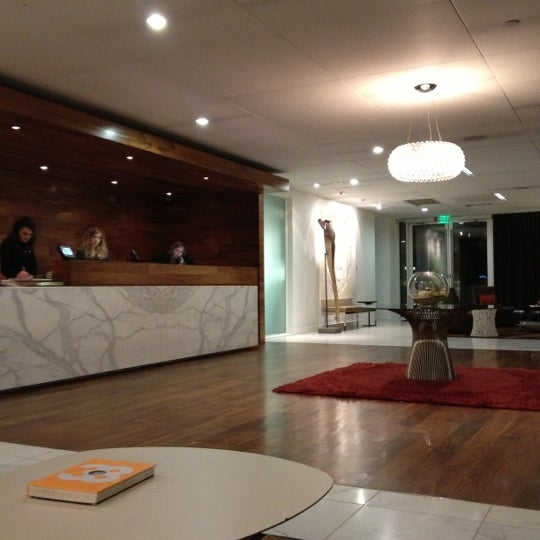 Photo taken at Hotel Modera by Donna N. on 12/12/2012